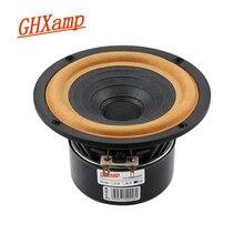 Ghxamp 5 pouces gamme complète haut parleur 8ohm 30W 138mm pleine fréquence haut parleur tissu bord Home cinéma fonte daluminium antimagnétique 1PC