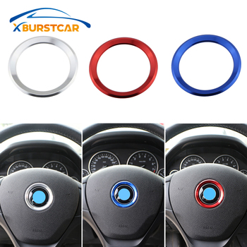 Xburstcar Auto for BMW M3 M5 E36 E46 E60 E90 E92 X1 F48 X3 X5 X6 Car Styling Decoration Ring Steering Wheel Circle Sticker image