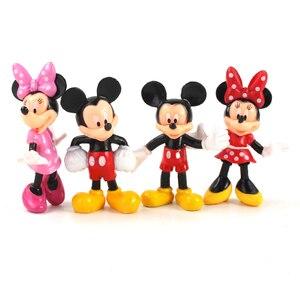 Image 1 - Figurines animaux souris 8cm, jouets Mini souris club house poupées classiques pour enfants, cadeaux