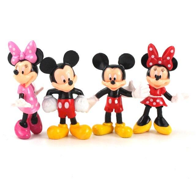 Figurines animaux souris 8cm, jouets Mini souris club house poupées classiques pour enfants, cadeaux