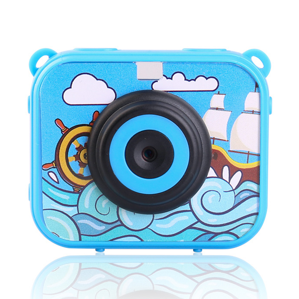 Mini Camcorder Toys Children Gift Recoder Anti Fall USB Rechargeable Camera Digital Video 2 Inch Screen ABS Waterproof HD 1080P image