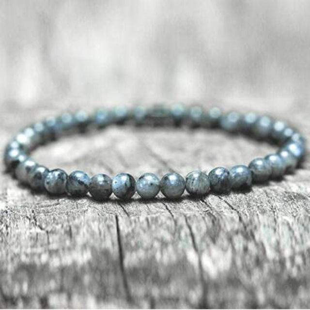 Map Stone Beads