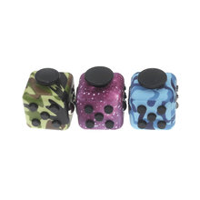 Anxiety Stress Relief Attention Decompression Plastic Focus Fidget Gaming Dice Toy For Children Adult Christmas Gift