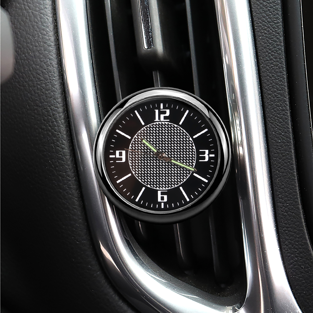 1X Car Clock Auto <font><b>Accessories</b></font> interior Dashboard Decoration For <font><b>BMW</b></font> R1200gs E46 E90 E60 E39 E36 F30 F10 F20 E87 X5 E53 E70 M E65 image