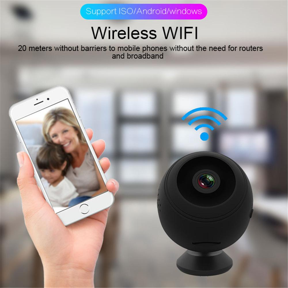 Wireless WiFi IP camera Mini Night Vision 1080P HD camera Remote Monitor Security Camera Motion Detection IP Camcorder Home Cam image
