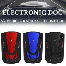 Radar detector a laser sistema de alarme de voz do carro anti detector de radar inglês russo tailandês alerta de voz veículo anti radar alarme aviso