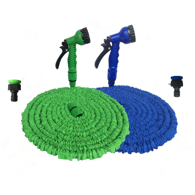 Garden Hose Expandable Magic Flexible Water Hose EU Hose Plastic Hoses Pipe With Spray Gun To Watering Car Wash Spray 25FT-250FT(China)