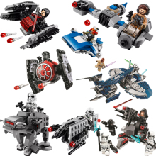 Star Wars Phantom X Fighter Alien Space Starwars in BOYS Building Blocks Sets Bricks Model Kids Kits Toys Compatible цена в Москве и Питере