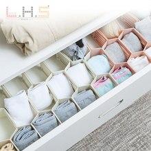 Напрямую от производителя продавая свободно комбинированный ящик слоистых перегородки творческое нижнее белье носки для организации хранения Seperated Par