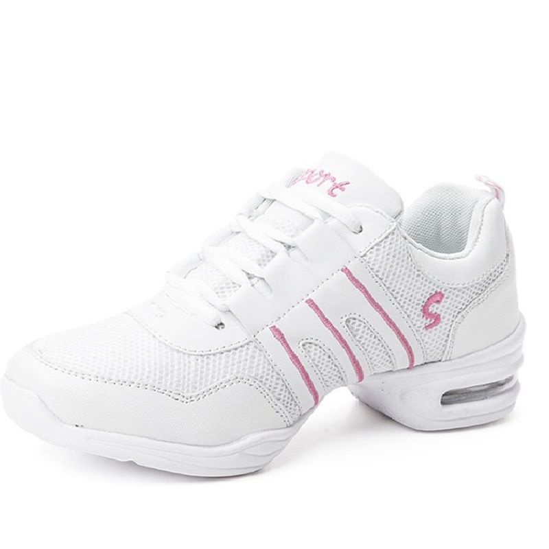 Sneakers Women Sports Feature Soft Out Sole Breath Dance Shoes Woman Practice Shoes Modern Dance Jazz Shoes Heels for Women