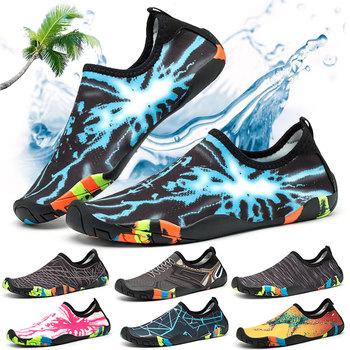2021 nowe tenisówki typu uniseks buty do pływania sporty wodne Aqua Seaside Beach Surfing pantofle Upstream lekkie obuwie sportowe tanie i dobre opinie cungel CN (pochodzenie) Dobrze pasuje do rozmiaru wybierz swój normalny rozmiar Wsuwane Zaawansowane Szybkie suszenie