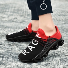 Big Size 36-48 Letter Sneakers For Men 2019 Blade Women Casual Shoes Light Exercise Lover Sneakers Lace-up Atheletic Trainers