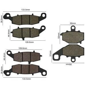 Image 5 - Yol için tutku KAWASAKI fren balataları diskler ön arka ZR X 400 E3 ER 6F Ninja 650 ER 6N ER650 Z750 ZR750J Z750S ZR750K KLE650