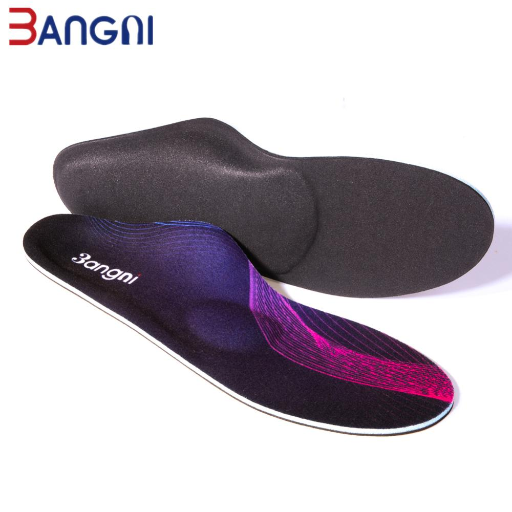 3ANGNI Orthopedic Foot Care Insoles For Plantar Fasciitis Orthotic Arch Support Insoles For Shoes Medical Flat Feet Shoe Pad