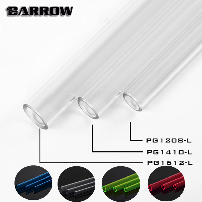 Barrow PETG  Hard TubeTransparent/ Blue /Green/ID8mm/ RedOD12mm - ID10mm/OD14mm -ID12mm/OD16mm   Water Cooling Cooler Tube