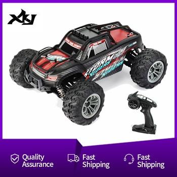 Coche RC KY1899A 116 escala 2,4 GHz 4WD de alta velocidad de Control remoto coche de carreras carga USB vehículo todoterreno para niños