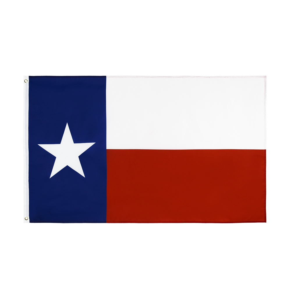 Флаг штата США и Техаса johnin 90x150 см