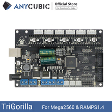 Carte mère anycubique imprimante 3D carte mère TriGorilla Compatible Mega2560 & RAMPS1.4 4 couches carte contrôleur de carte PCB pour RepRap