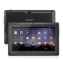 7 pouces tablette tactile android Pc Android 8.1 Quad Core Wifi Tablettes 1 Go + 16 Go Double TF 2.5D Écran HD