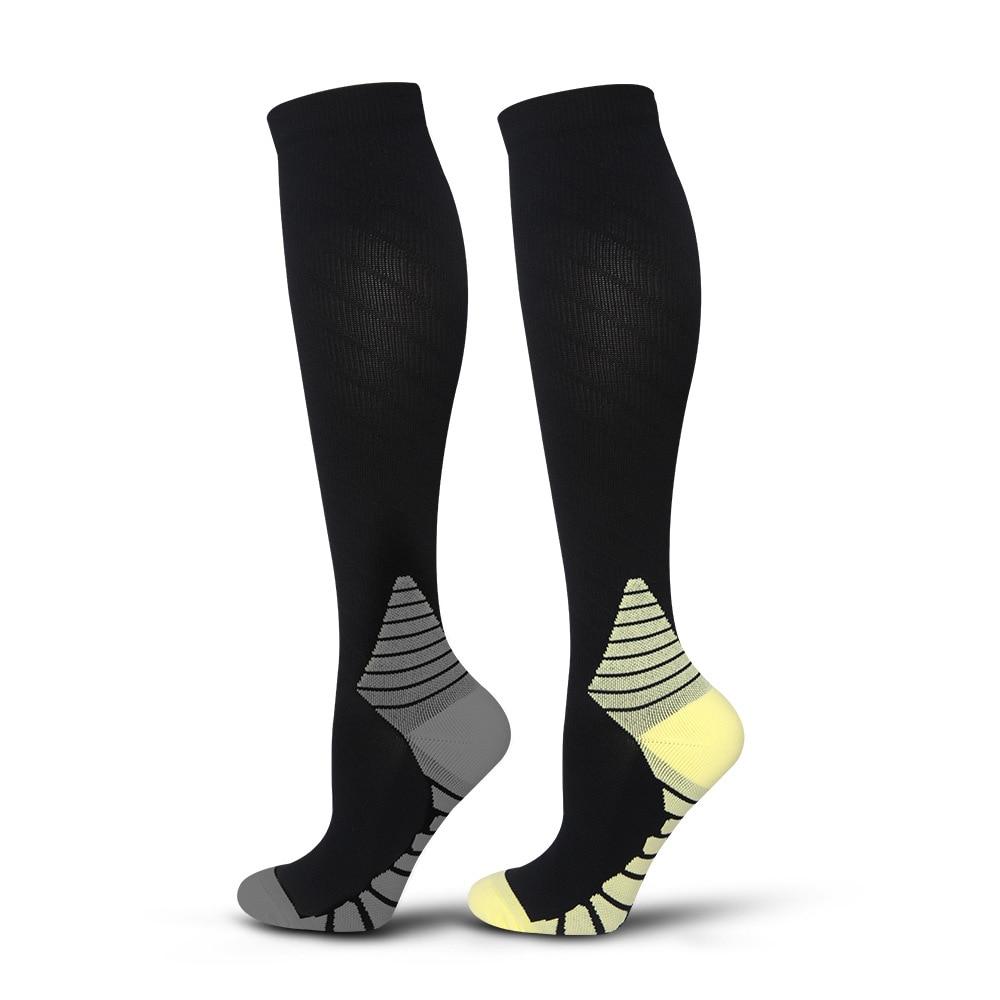 Sweat-Absorbent Golf Basketball Socks Outdoor Sports Football Skateboard SocksMen Running Sport Socks Compression Cycling Socks
