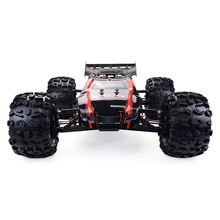 Professional Grade Rc Car 1 /8 Brushless 4wd Racing Monster Truck Rtr Adjustable Shock Absorber Gas Mode Zd Racing 9021 -v3