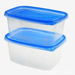 Milieuvriendelijke Wegwerp Balen Eten Pp Dik Met Enkele Takeaway Box Magnetron Plastic Lunchbox