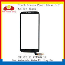 цена на 10Pcs/lot Touch Screen For Motorola Moto E5 Play Go Touch Panel Digitizer Sensor Front LCD Glass Lens XT1920-15 XT1920-18 Lens