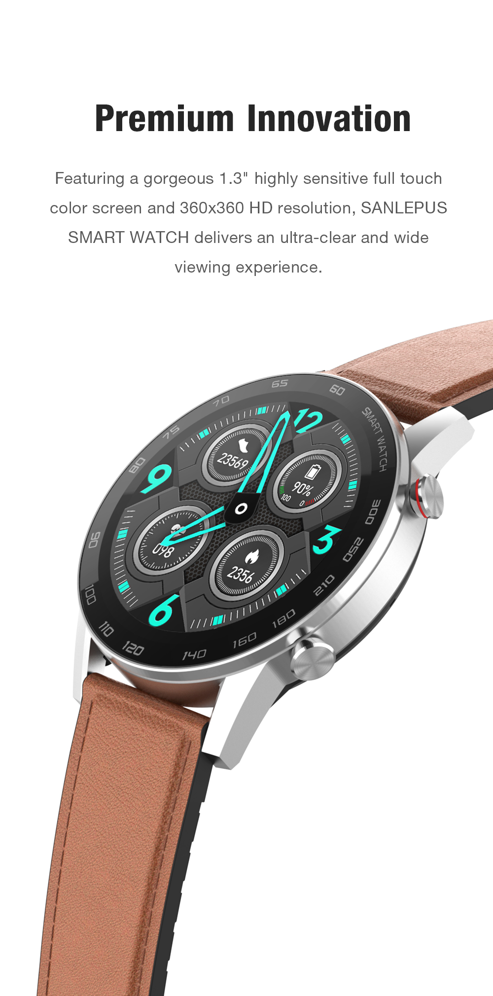 Hd981f5cb4d8247518a591f0fc21b5b17w 2021 SANLEPUS ECG Smart Watch Dial Call Smartwatch Men Sport Fitness Bracelet Clock Watches For Android Apple Xiaomi