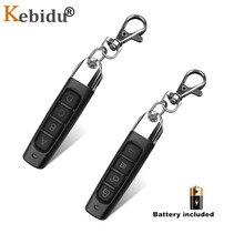 Kebidu controle remoto de 433.92 mhz, cópia de controle remoto de 433mhz, código clone, chave de carro, garagem, abridor de portão, duplicador
