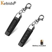 KEBIDU 433 Mhzสำเนารีโมทคอนโทรลโคลนโคลนรหัสเครื่องส่งสัญญาณRF 433 MHZรีโมทคอนโทรลประตูโรงรถประตูDuplicator