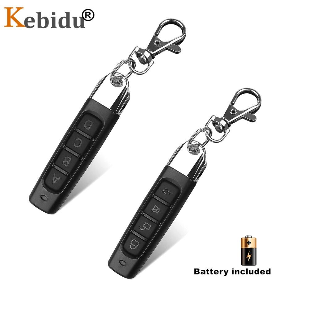 Kebidu 433.92 mhz cópia de controle remoto clone código clonagem 433 mhz rf transmissor remoto porta da garagem do carro abridor duplicador