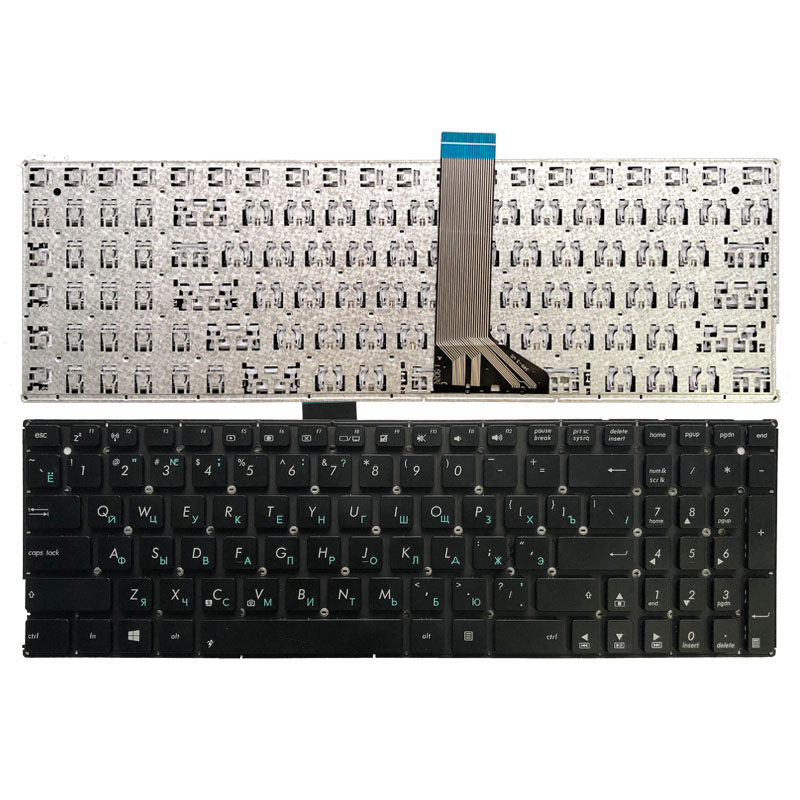 Russian RU Keyboard For ASUS X552C X552E X553 X553M X553MA K553M K553MA F553M With Short Cable