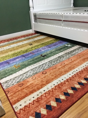 Haute qualité 3D marque FF Logo haute et basse cheveux importés laine plus soie salon tapis chambre tapis, peut être personnalisé