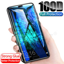 100D Protective Glass For Huawei P20 Lite Pro P30 P10 Lite Tempered Glass For Huawei Honor 20 10 Lite Pro Screen Protector Film(China)