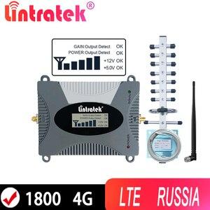 Image 1 - Lintratek 4G Cellular Repeater 1800 LTE 4Gอินเทอร์เน็ตเครื่องขยายเสียงสำหรับข้อมูลBand 3 1800Mhz 2Gโทรศัพท์มือถือBoosterพร้อมรัสเซีย