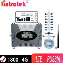 をlintratek 4 3gセルラーリピータ1800 lte 4グラム信号インターネットアンプデータバンド3 1800mhz 2グラム携帯電話のブースターロシア