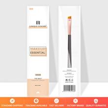 U215 Eyebrow brush bevel Professional Eyebrow Brush eye angled Makeup Brush single liquid eyeliner Cosmetics Tools недорого