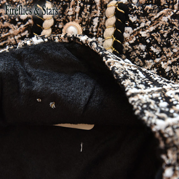 Jesienno-zimowa spódniczka dziewczęca spódniczka dla dziecka dziecięca modna spódnica dla dzieci dna Fashion Check Gunny Pearl kieszeń aksamitna ciepła od 4 do 12 lat tanie i dobre opinie La MaxPa Na co dzień CN (pochodzenie) Pasuje prawda na wymiar weź swój normalny rozmiar COTTON Poliester Plaid PATTERN