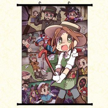 Anime Game Identity V Wall Canvas Scroll Painting Home Decor Cartoon Decor canvas Poster painting for wall art scroll poster недорого