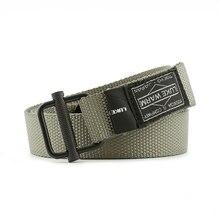 Армейский ремень боевой пояс черный для джинсов lukewarm нейлоновый тактический ремень Металлические брезентовые ремни с пряжкой бренд мужской ремень подарок