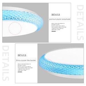 Image 5 - Plafonnier dintérieur, luminaire de plafond, éclairage à intensité réglable, montage en Surface, luminaire de plafond, montage en Surface, idéal pour un salon ou une cuisine, Led, plafond moderne à LEDs V, 36/72W