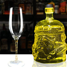 цены Whiskey Star Wars White Soldier Glass Jug Storm Trooper Spirit bottle Empty Crystal Wine Glass Bottle Glass Cup Home Bar Tools