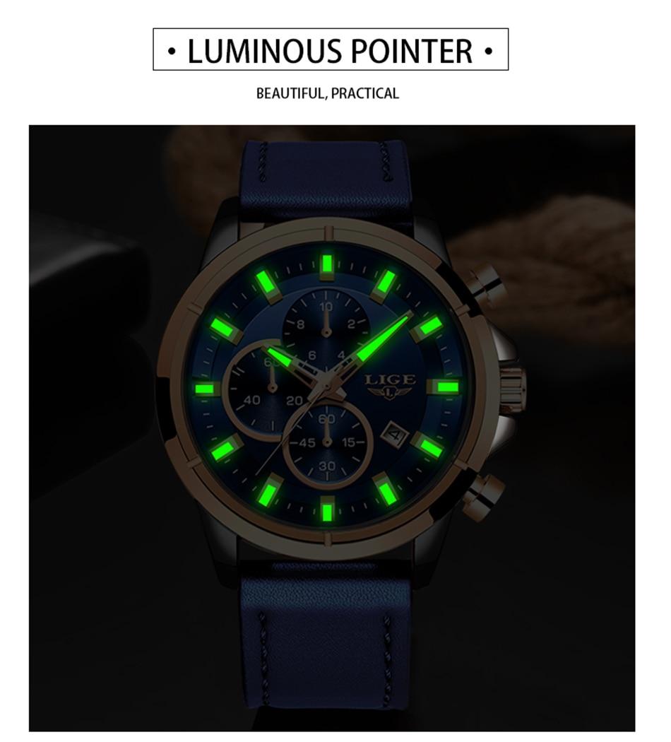Hd982cfc05c7a4d608913b75f32e0940fz LIGE Casual Sports Watches For Men Blue Top Brand Luxury Military Leather Wrist Watch Man Clock Fashion Chronograph Wristwatch