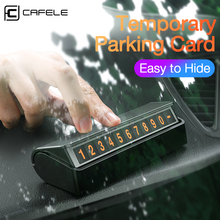 Cafele Car Temporary Parking Card Phone Number Plate Telephone Park Stop Automobile Accessories Car-styling
