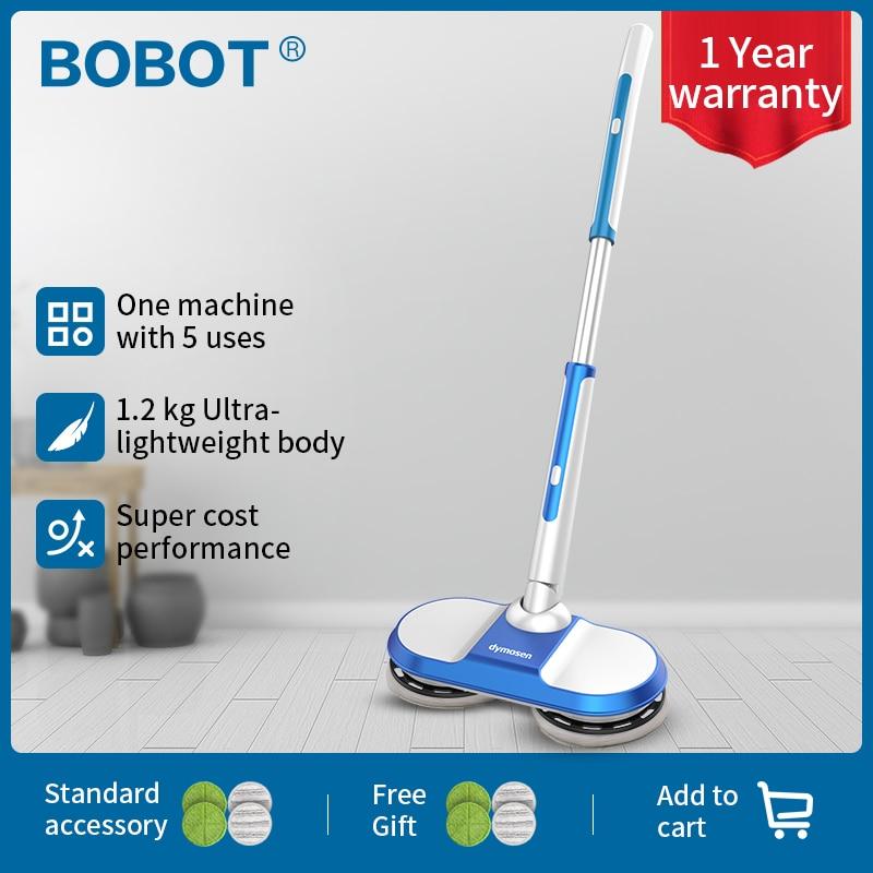 BOBOT MOP MINI Cordless Electric Mop Floor Mop Sweeping Handheld Wireless Electric Mop Floor Washer