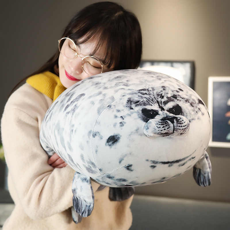 30 40 60cm super soft osaka seal pillow