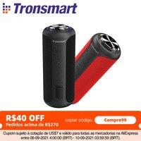 Tronsmart T6 Plus (edizione aggiornata) altoparlante Bluetooth 5.0 altoparlante portatile da 40W colonna IPX6 con NFC, scheda TF, unità Flash USB