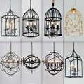 Japan deco maison industrielle lampe glas ball restaurant glanz pendente