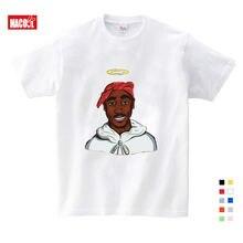 Детская Тупак» «2pac в стиле «хип хоп» с надписью; футболка;
