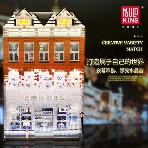 Image 3 - MOC Creator uzman kristal ev tuğla şehir sokak serisi Model oyuncak inşaat blokları çocuklar için uyumlu 10224 hediyeler